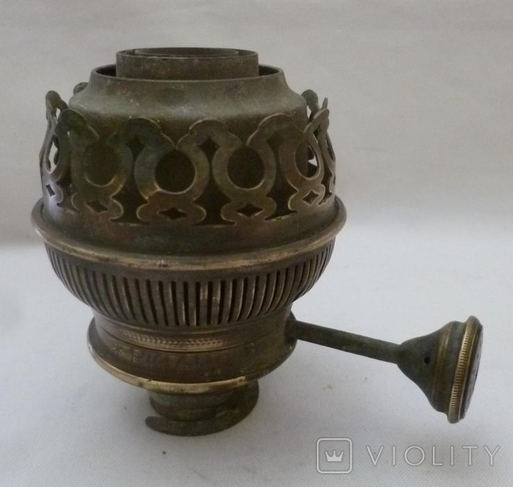 Старая горелка керосиновой лампы Picador-Brenner. Германия., фото №2