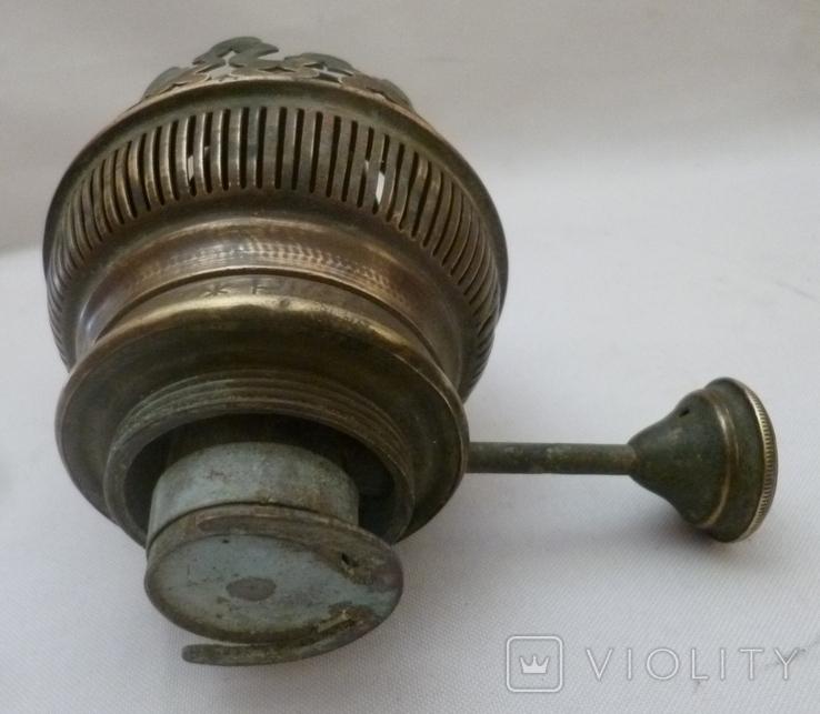 Старая горелка керосиновой лампы Picador-Brenner. Германия., фото №5