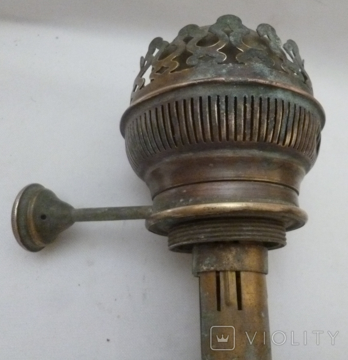Старая горелка керосиновой лампы Picador-Brenner. Германия., фото №12