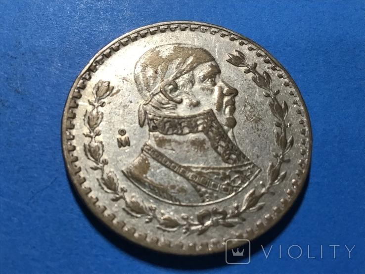 Мексика 1 песо 1962, фото №2