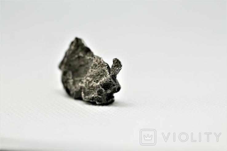 Залізний метеорит Sikhote-Alin, 13 г, з сертифікатом автентичності, фото №7