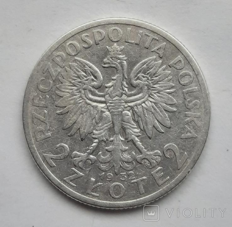 2 злотих 1932, фото №2