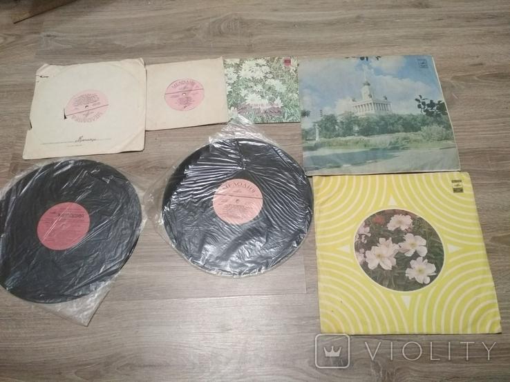 Пластинки разных размеров 7 шт., советская эстрада, фото №2