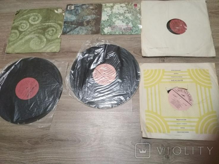 Пластинки разных размеров 7 шт., советская эстрада, фото №7