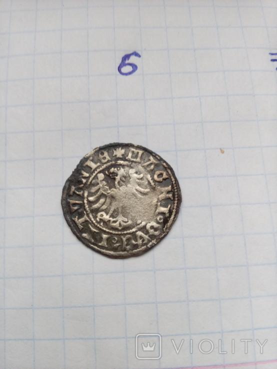 Литовський полугрош Сигизмунда старого без дати (6), фото №4