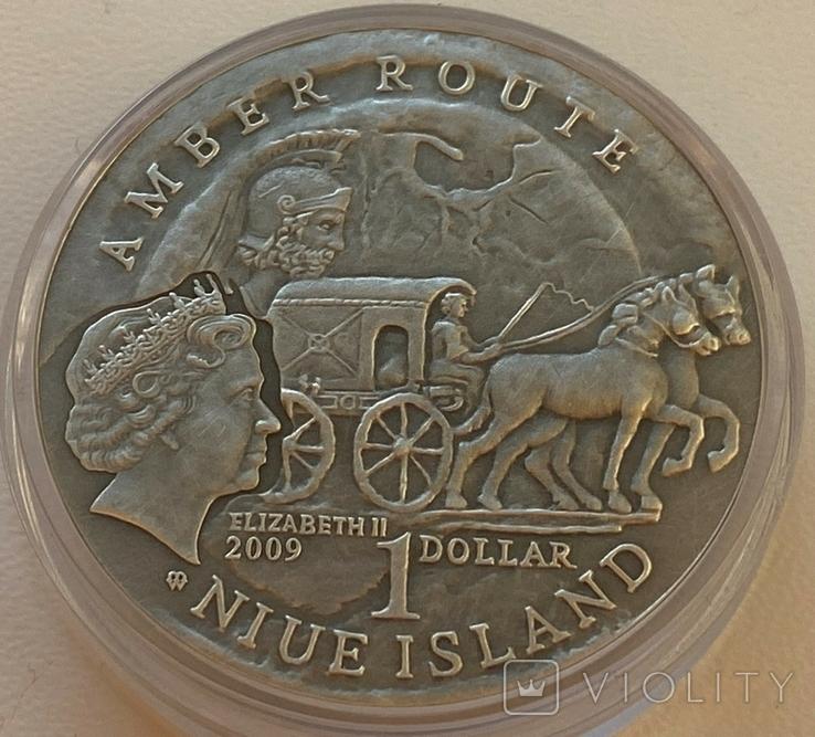 Ниуэ 1 доллар 2009 год, фото №3
