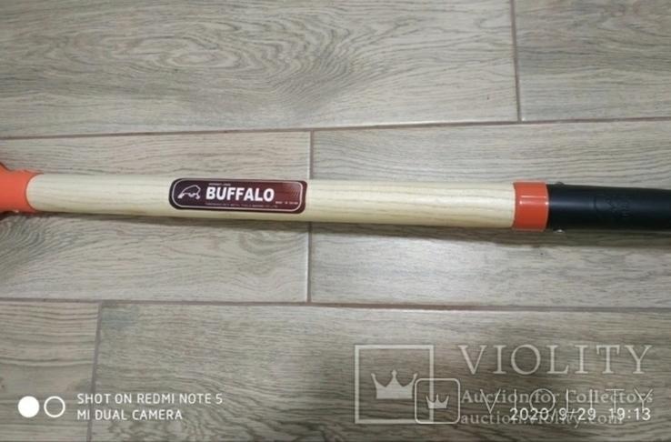 Лопата BUFFALO (американка) з дерев'яним держаком, фото №7