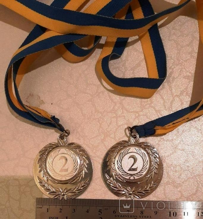 Спортивные медали (4 шт)+бонус (вымпелы), фото №6