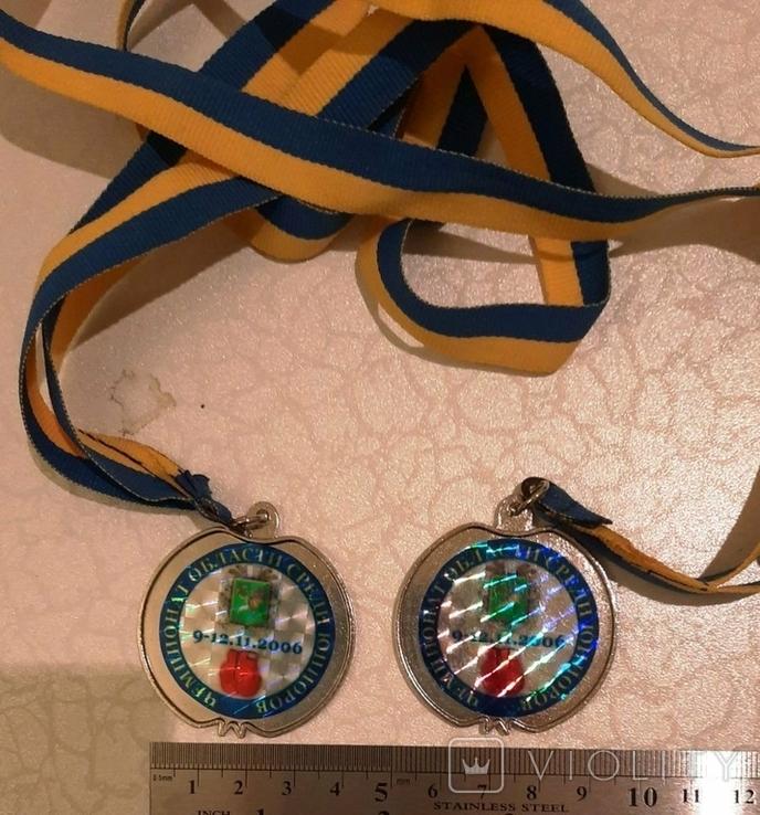 Спортивные медали (4 шт)+бонус (вымпелы), фото №7