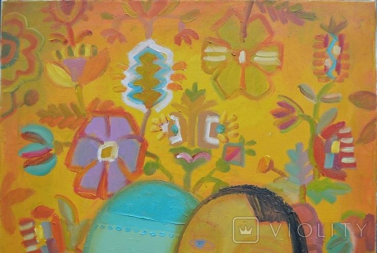 "Картина ""Воспоминания о море"" 2017 г. Художник Пантелемонова Инна., фото №4"