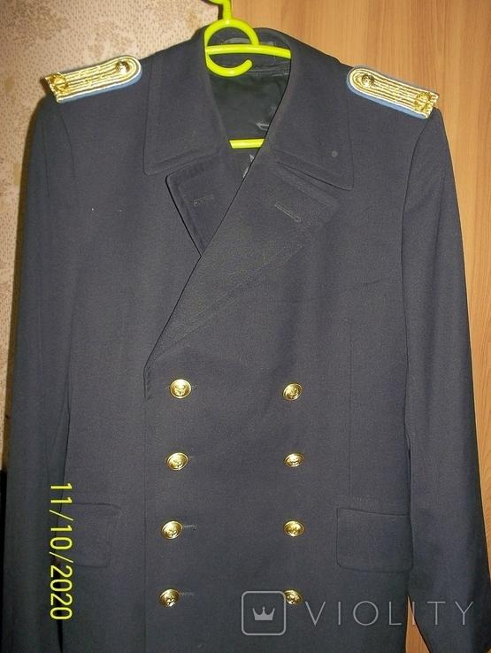 Пальто военно  морского  флота  германии.    подкладка  отстегивается., фото №2