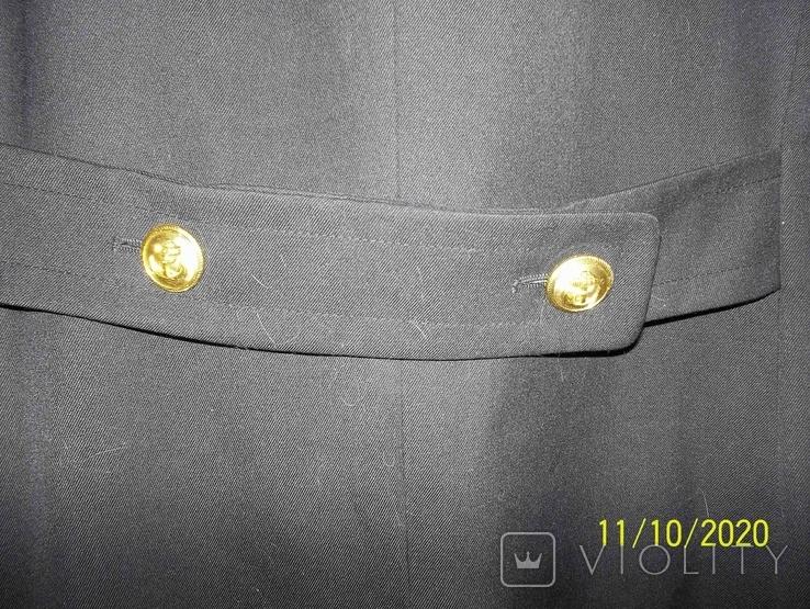 Пальто военно  морского  флота  германии.    подкладка  отстегивается., фото №5
