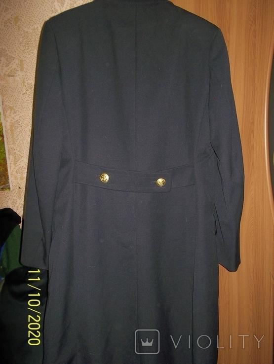 Пальто военно  морского  флота  германии.    подкладка  отстегивается., фото №6