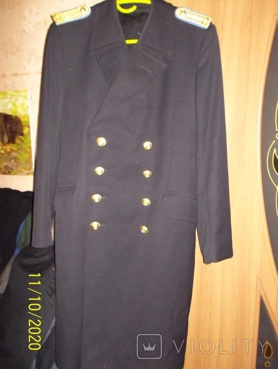 Пальто военно  морского  флота  германии.    подкладка  отстегивается., фото №7