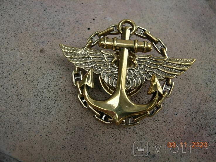 Знак нагрудный Палубная авиация .копия.., фото №4