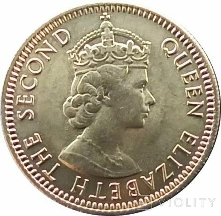 Малайя и Британское Борнео 10 центов,1961, фото №2