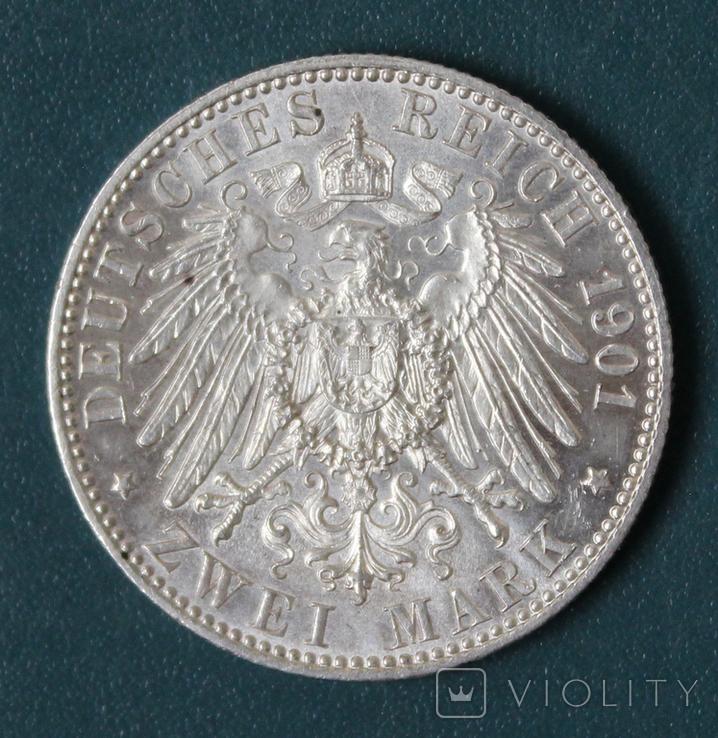 2 марки 1901(200 лет империи), фото №3
