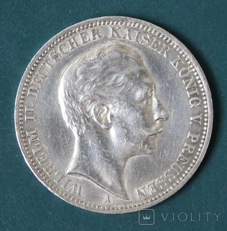 3 марки 1909 (Вильгельм 2), фото №2