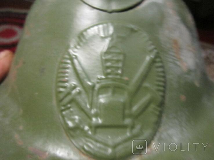 Каска пожарника 50-х годов., фото №2