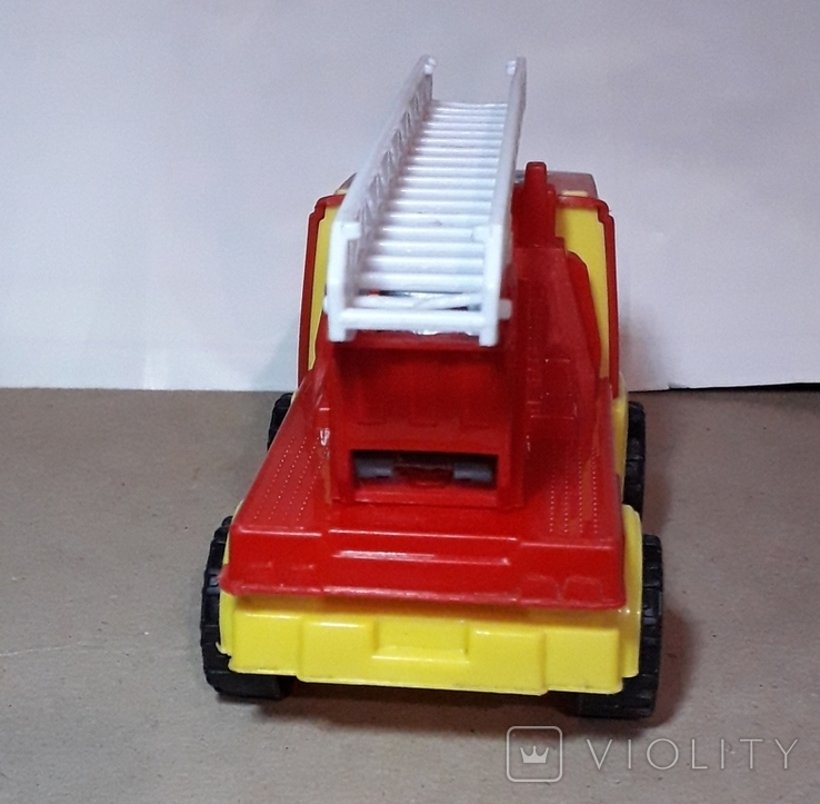 Пожарнвя машина ORION с лестницей длина 16,5 см., фото №4