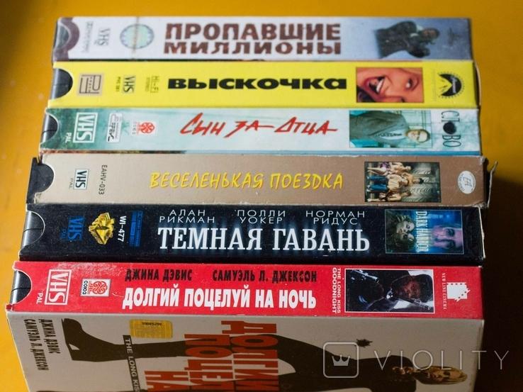36шт. видеокассеты фильмы разные, фото №6
