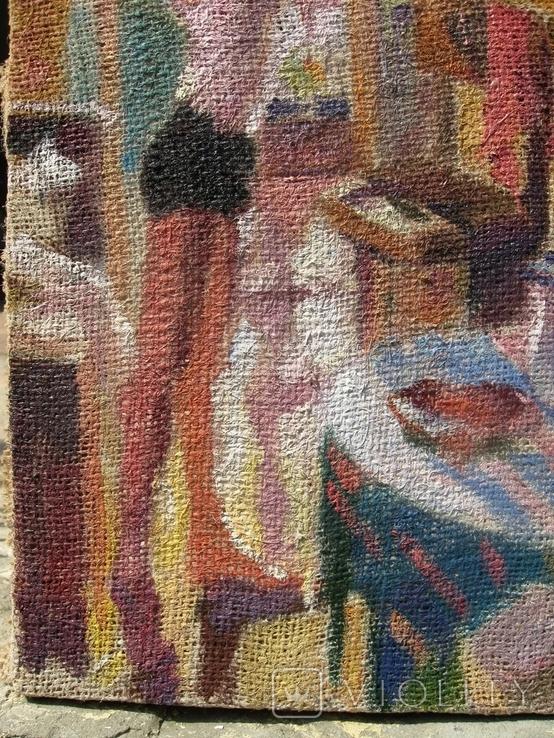 Картина Утренняя зарядка, фото №4
