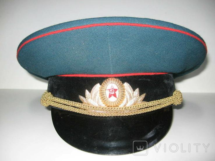 Фуражка парадная СА. Разм.56, фото №2