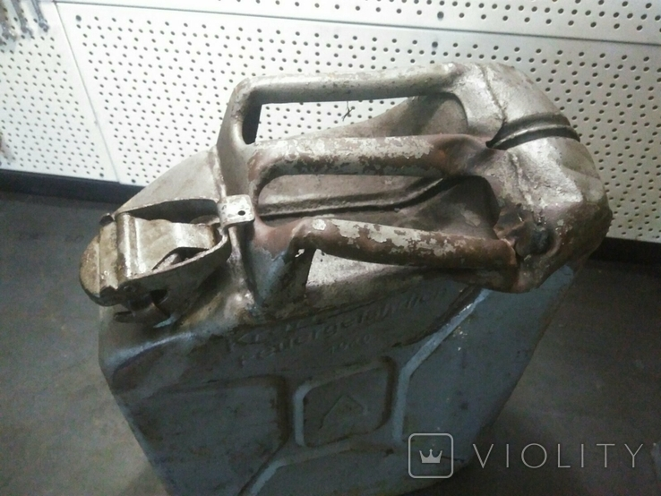 Немецкая канистра 1940г под реставрацию (ретро мотоциклы, авто), фото №5