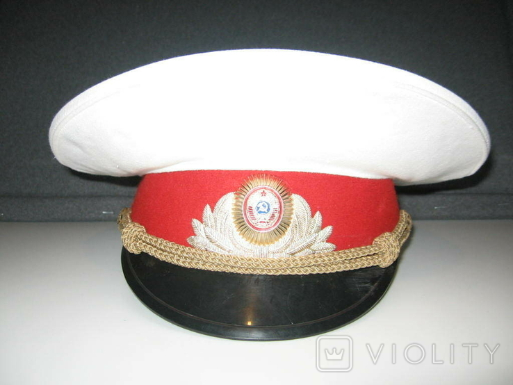 Фуражка Парадная МВД СССР, фото №2