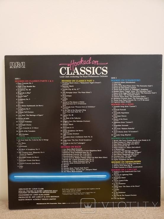 "Vinyl. Classical. ""Hooked On Classics (2 album)"", фото №8"