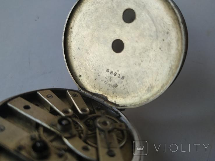Карманные часы Cylindre серебро, фото №7