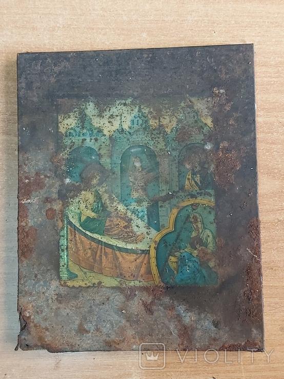 Икона на метале, фото №2