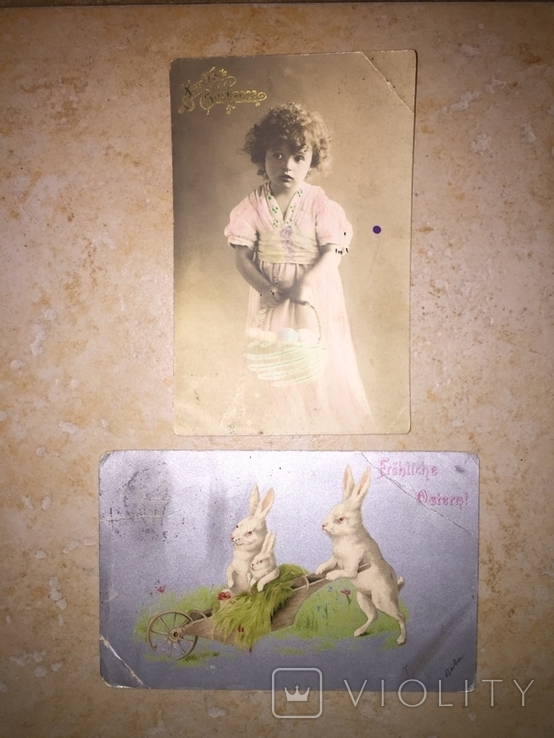 Пасхальные открытки, фото №2