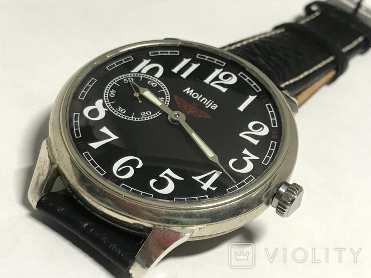 Часы Молния мех 3602 в оригинальном корпусе, фото №2
