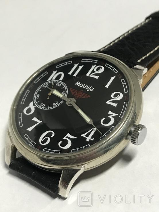 Часы Молния мех 3602 в оригинальном корпусе, фото №3