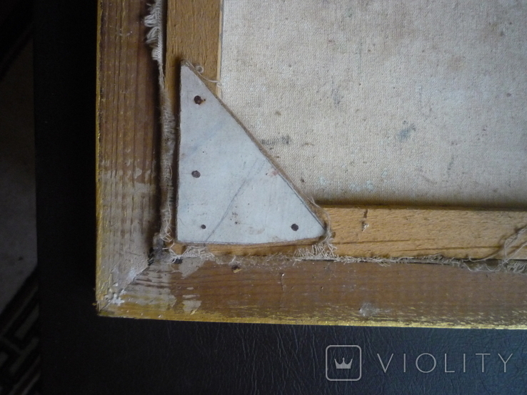 Картина закарпатского художника. Река Тиса., фото №12