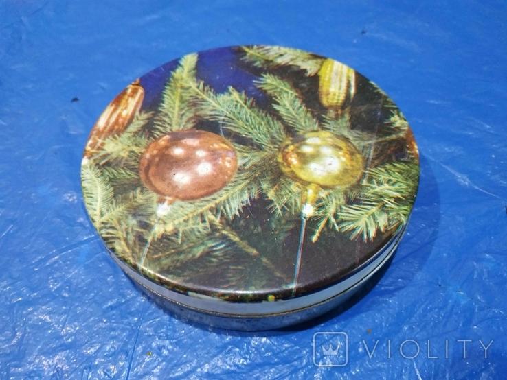 Коробка металлическая Новогодняя, фото №2