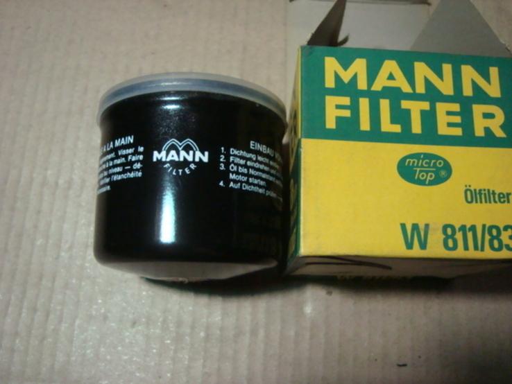 MANN-FILTER W 811/83 Масляный фильтр NISSAN SUZUKI