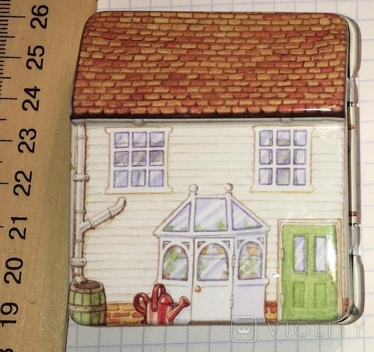 Шкатулка жестяная, домик / будиночок, фото №5