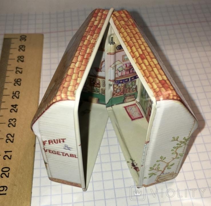 Шкатулка жестяная, домик / будиночок, фото №12