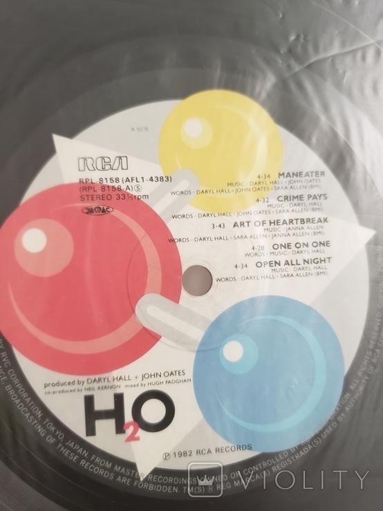 "Vinyl. Electronic, Rock. ""Daryl Hall + John Oates – H2O"" with OBI, фото №5"