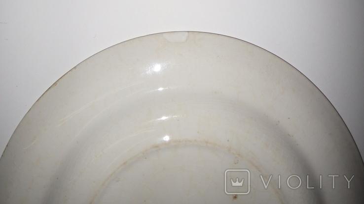 Тарелка старая, Европа, фото №6