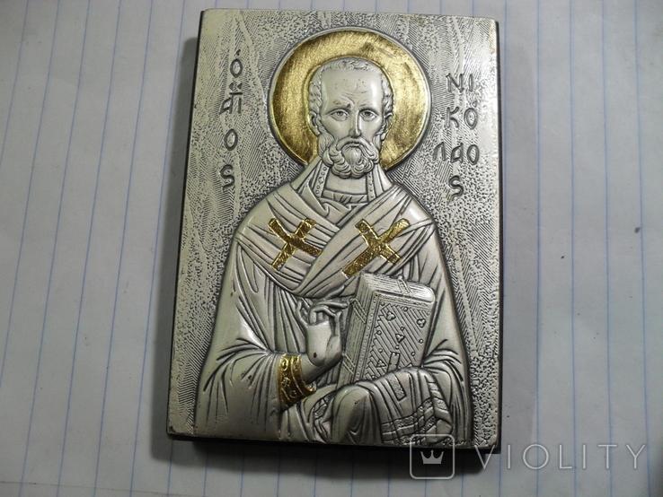 Подарочная икона Святой Николай, фото №2