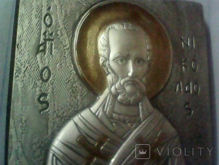 Подарочная икона Святой Николай, фото №9