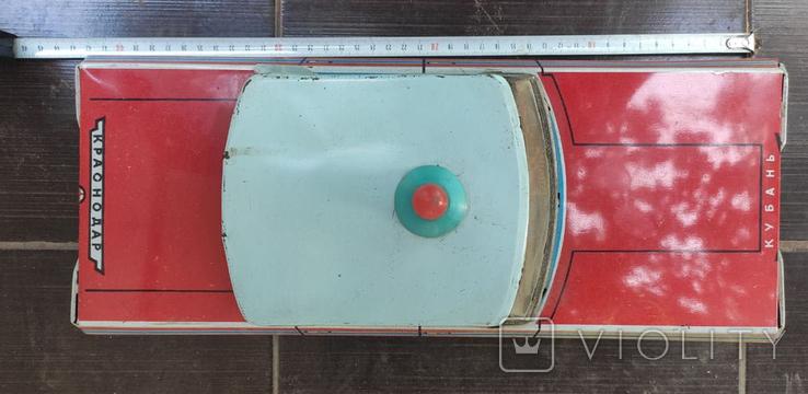 Автомобиль Кубань Краснодар, игрушка СССР, фото №4