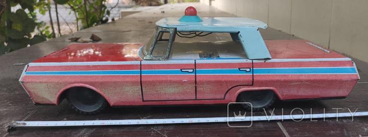 Автомобиль Кубань Краснодар, игрушка СССР, фото №6