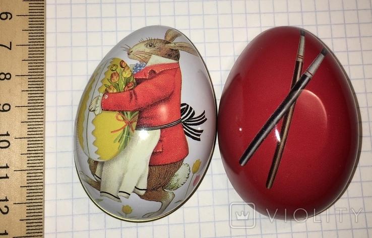 Шкатулка жестяная, пасхальное яйцо / 01, фото №2