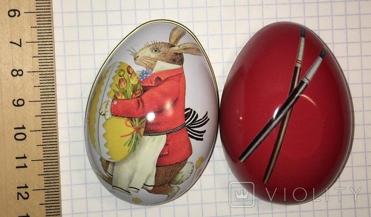 Шкатулка жестяная, пасхальное яйцо / 01, фото №6