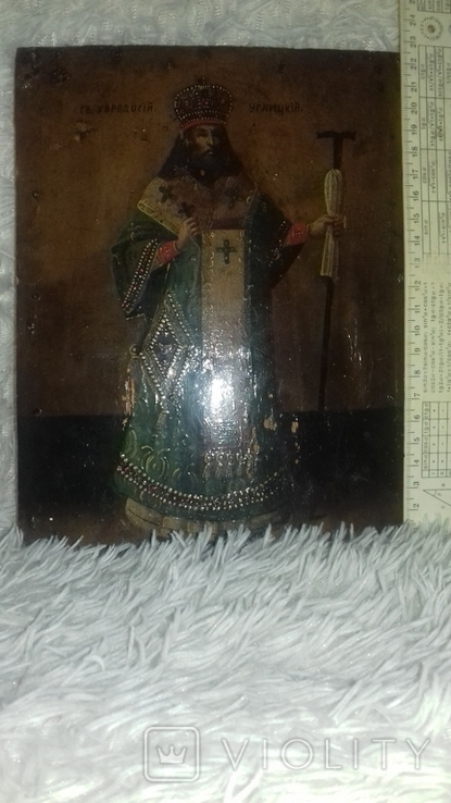 Икона Феодосий Углицкий, фото №4