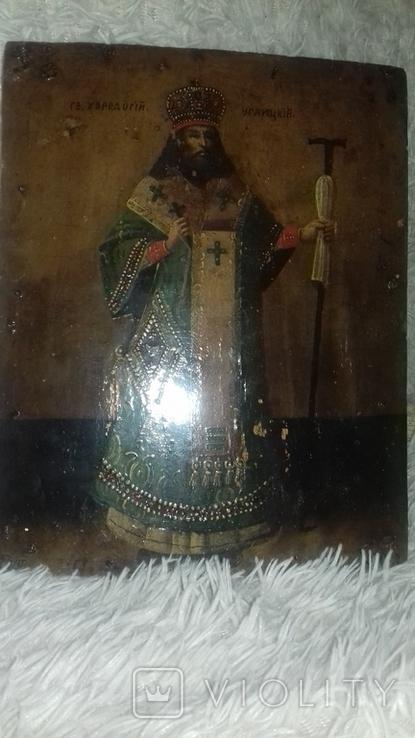 Икона Феодосий Углицкий, фото №8